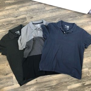 Set of 3 old navy polo shirts